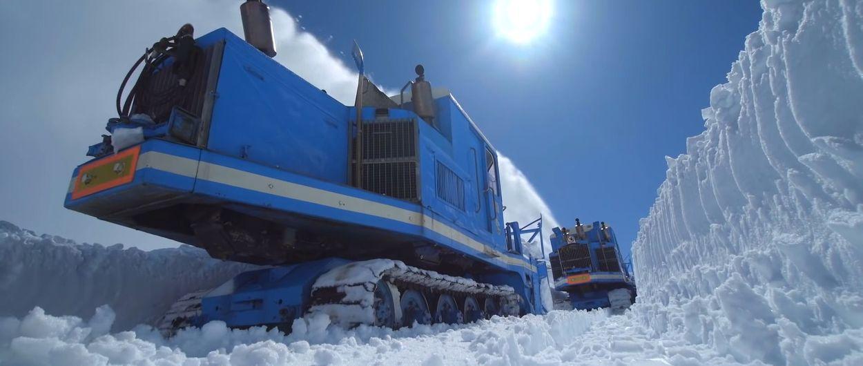 La nieve de la Grossglockner High Alpine Road tendrá que irse sola este año