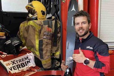 Aymar Navarro: Pompier, esquiador y freerider internacional