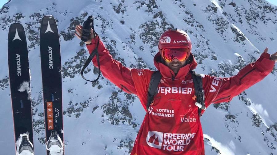 Aymar Navarro en el Xtreme de Verbier