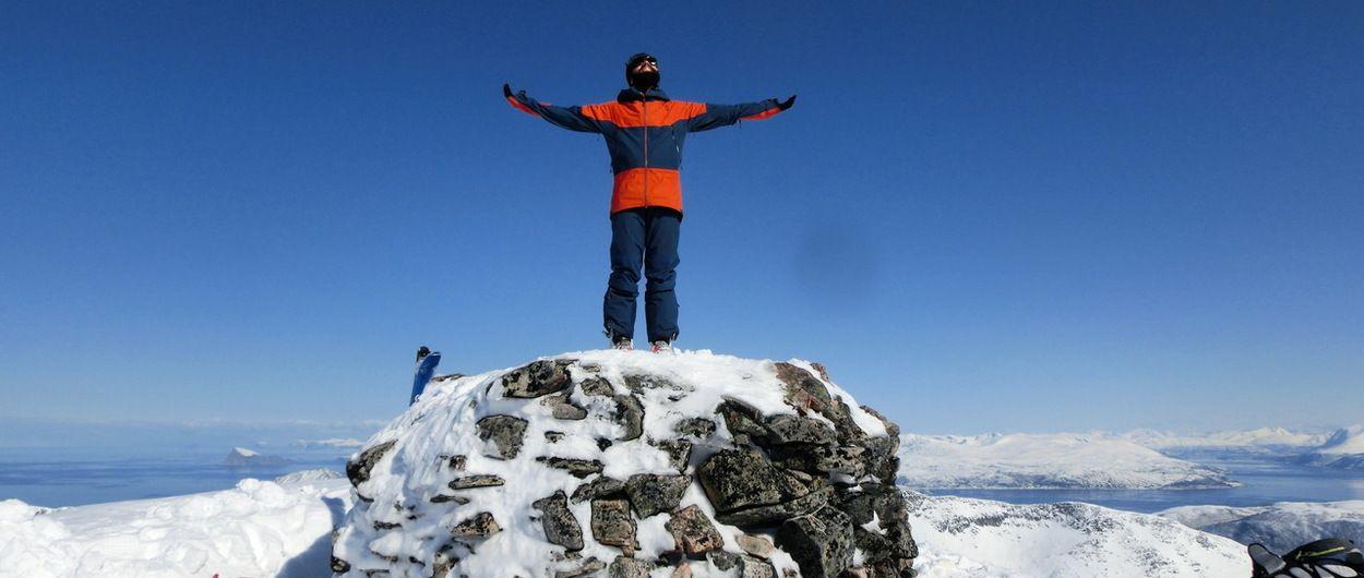 Esquí de montaña en Senja - Keipen