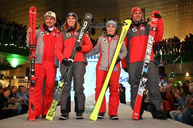 Equipo Oficial de Austria de esquí alpino 2018-2019