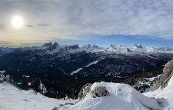 CRÓNICA III - Dolomitas y la Perla (Cortina d'Ampezzo) con final inesperado...
