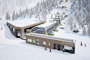 Schladming invierte 20 millones en dos nuevos telesillas para la nueva campaña de esquí