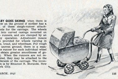 Coche para bebés – Baby carriage