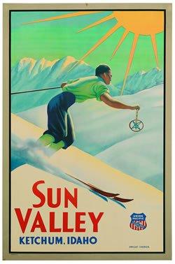 El Póster de esquí más caro del mundo <br> <em>Record Ski-Poster Sale </em>