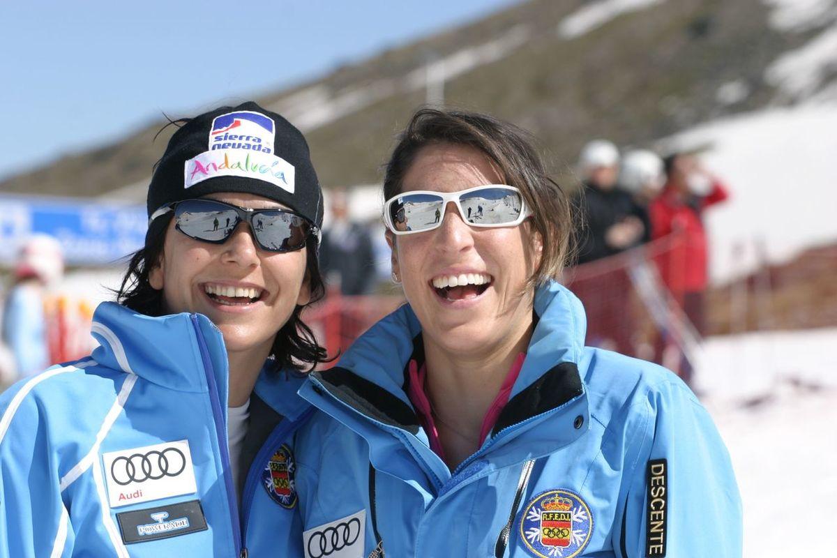 Maria José Rienda y Carolina Ruiz