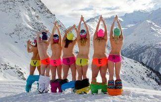 Los/as esquiadores/as tienen el mejor culo