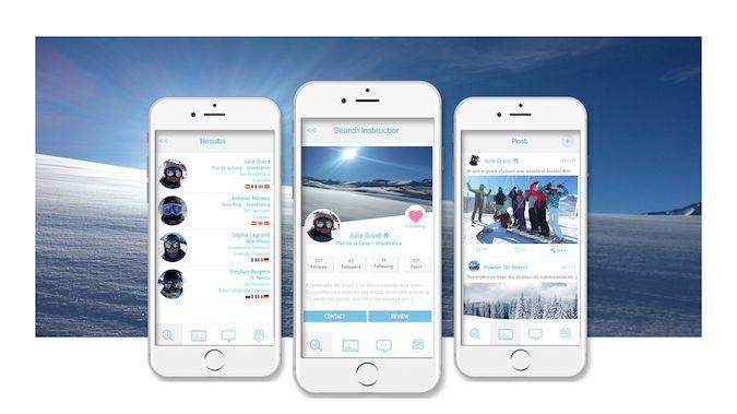 uSchuss!:  mucho más que una aplicación para elegir profesor de ski