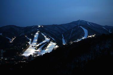 La pista de esquí olímpica de Jeongseon se desmantelará antes de 2024