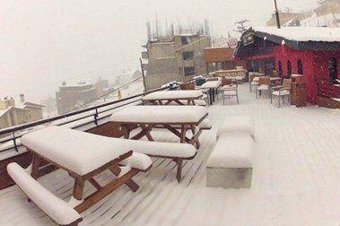 Cae Más Nieve en Los Tres Valles