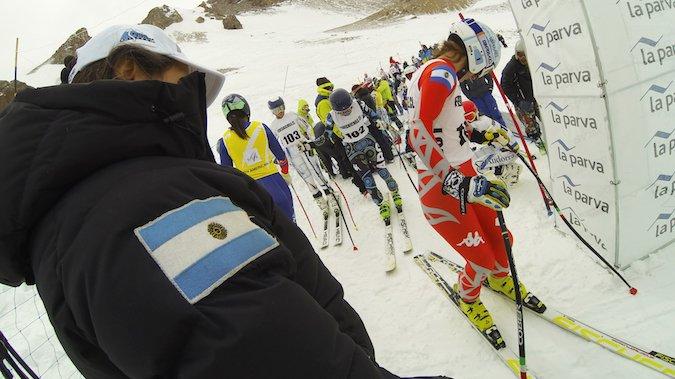 La Parva recibió a los mejores del mundo en el Descenso FIS South American Cup