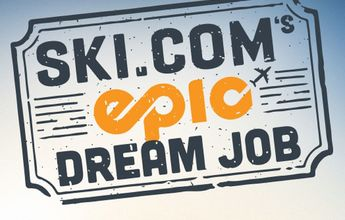 Epic Dream Job: 10.000$ por esquiar durante 2 meses por medio mundo