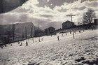 El Ferial, la pista de esquí en 1950 de Jaca