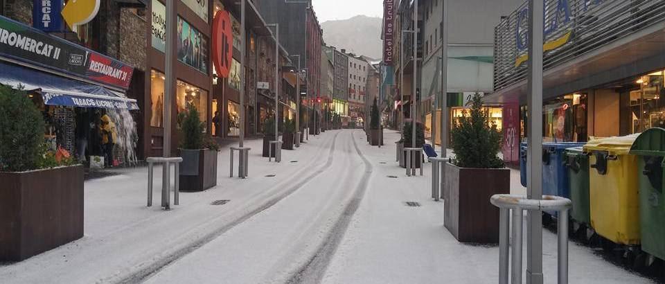 ¡Llega la nieve!