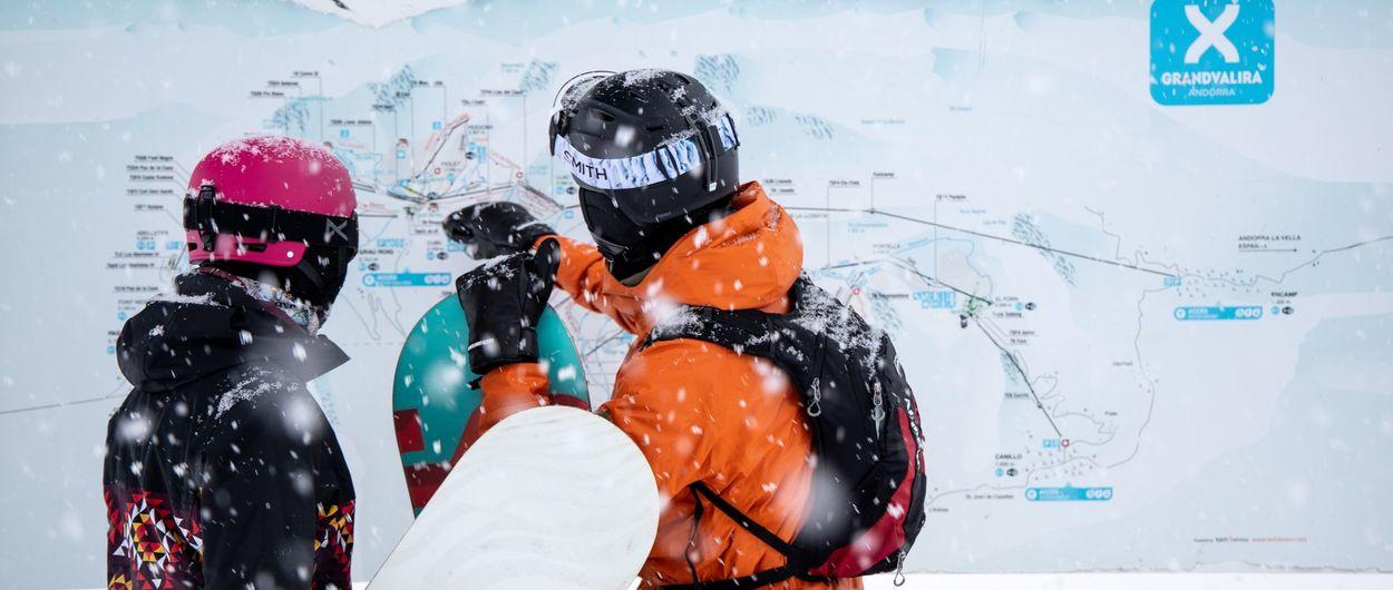 Estas son todas las medidas anti COVID que aplicará Grandvalira esta temporada de esqui