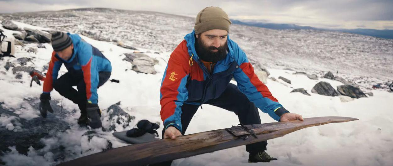 Encuentran en Noruega la pareja de un esquí perdido hace 1.300 años