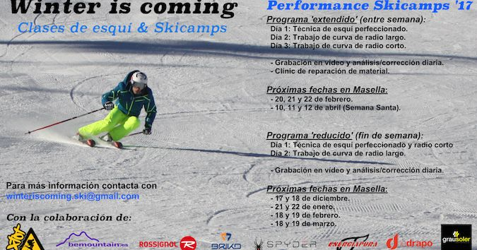 Winter is coming: Performance skicamps 2017