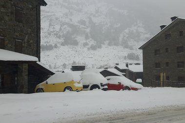 Andorra está blanca.