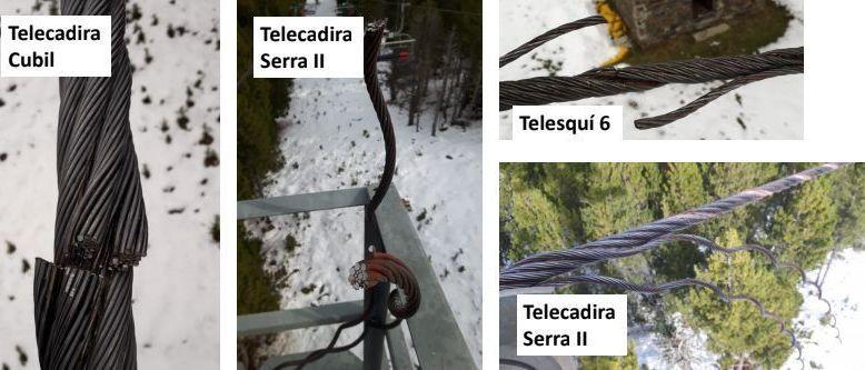 Sabotaje en tres remontes de la estación de esquí de Pal-Arinsal