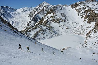 Vall Fosca vuelve como estación de esquí de montaña y raquetas