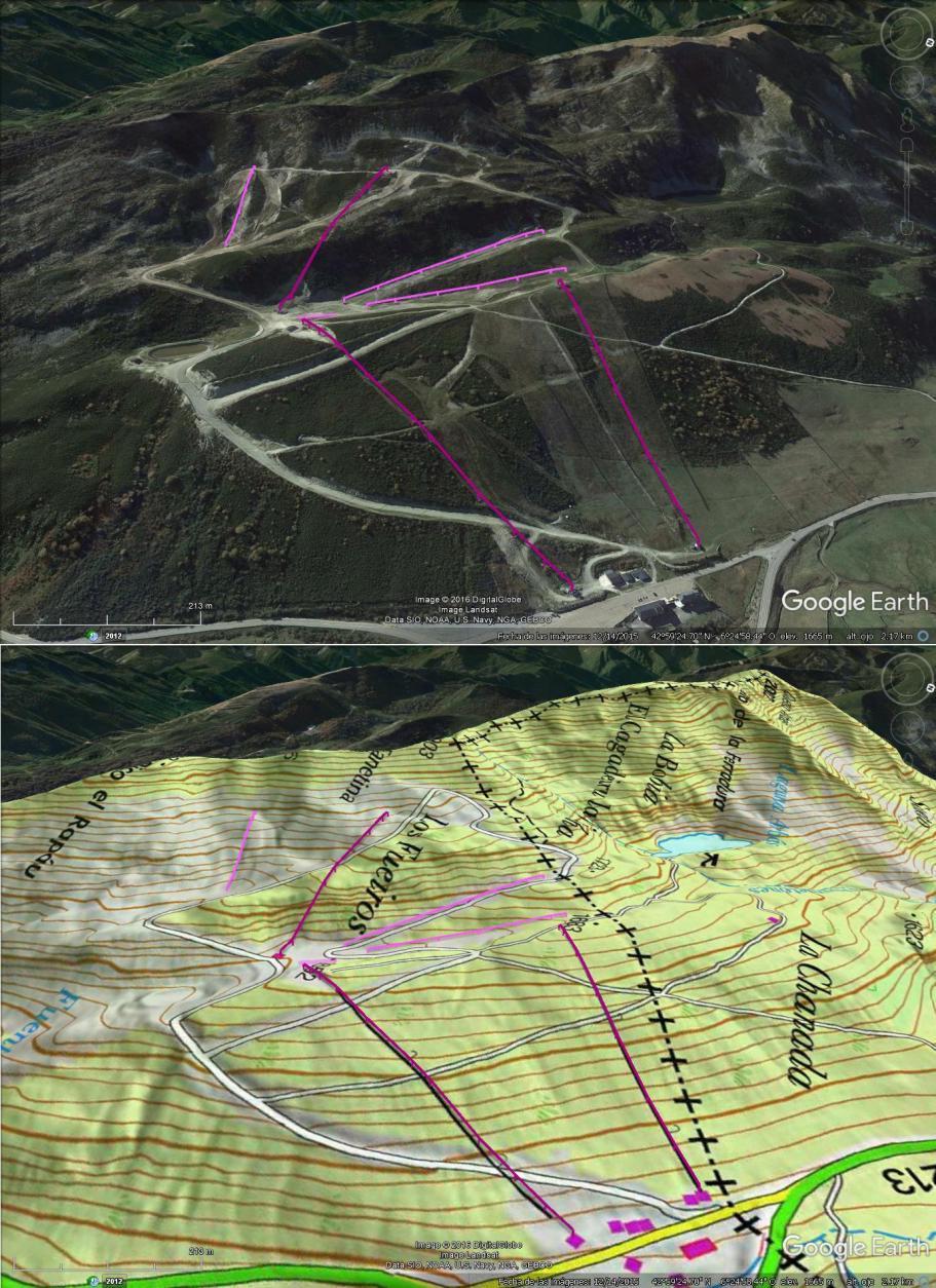 Vistas Google Earth Leitariegos 2016-17