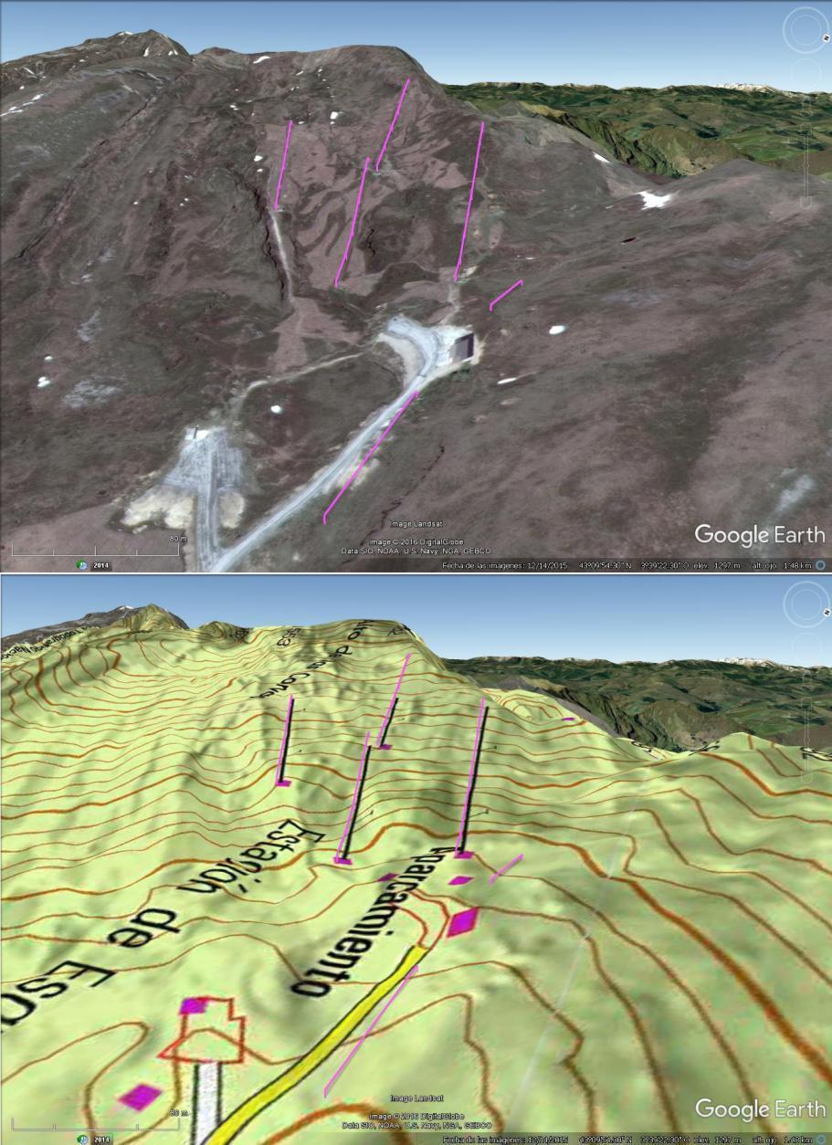 Vistas Google Earth Lunada 2016-17