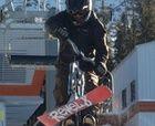 Snowbike y Skiboards: BMX en la nieve.