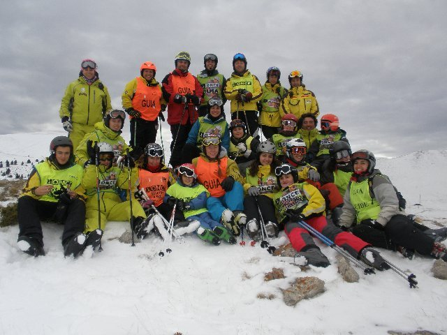 Fotografía de grupo de participantes