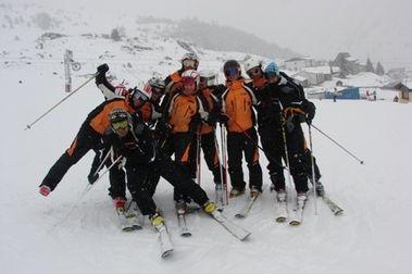 Telemark como apoyo a entrenamientos