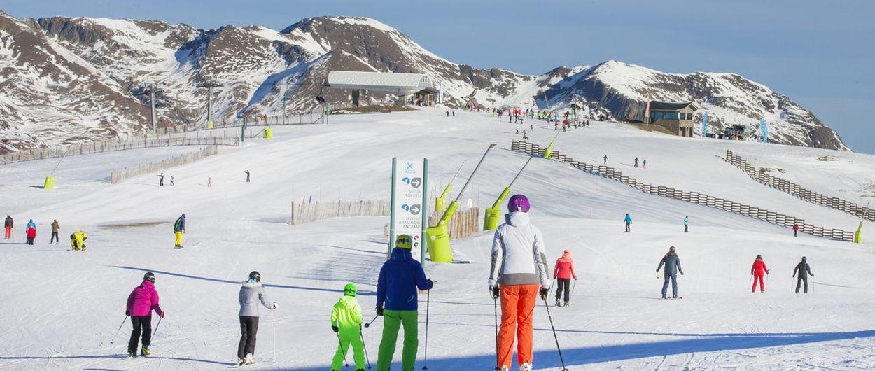 Grandvalira vende más de 260.000 días de esquí durante estas Navidades