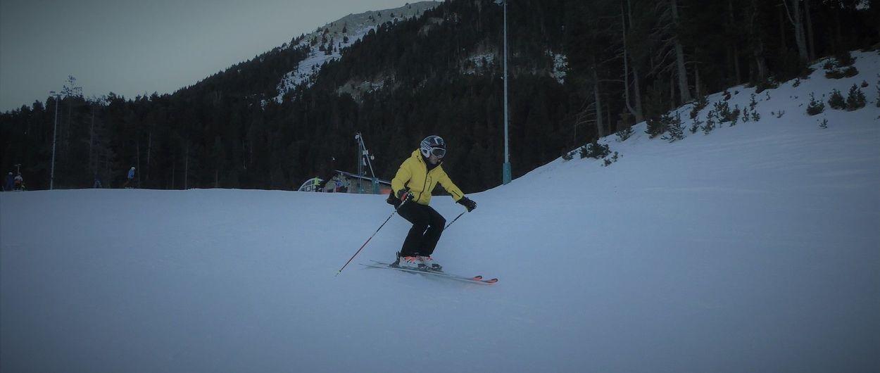 Usa tus articulaciones al esquiar: ¡amortigua!