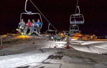 Nueve jornadas más de esquí nocturno durante Sierra Nevada 2017