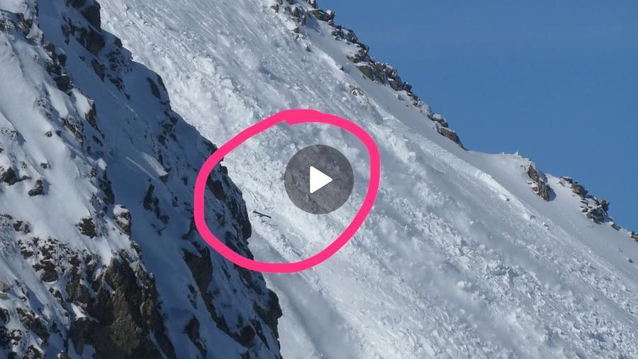 Captura video avalancha