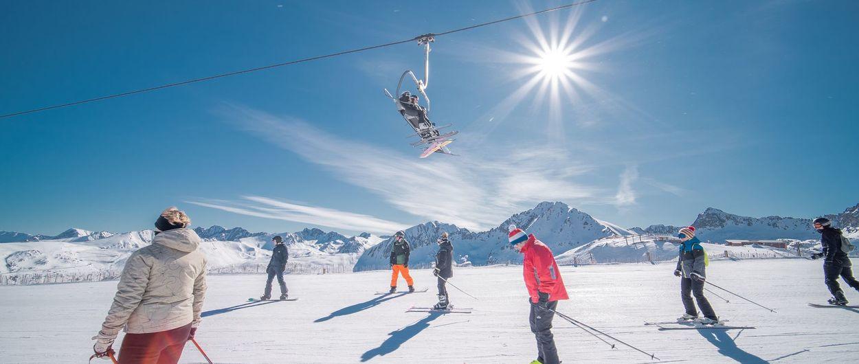 Grandvalira Resorts vuelve a abrir sus 240 kilómetros de pistas de esquí