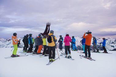 Los huevos de Amancio Ortega triunfan entre los esquiadores de Grandvalira