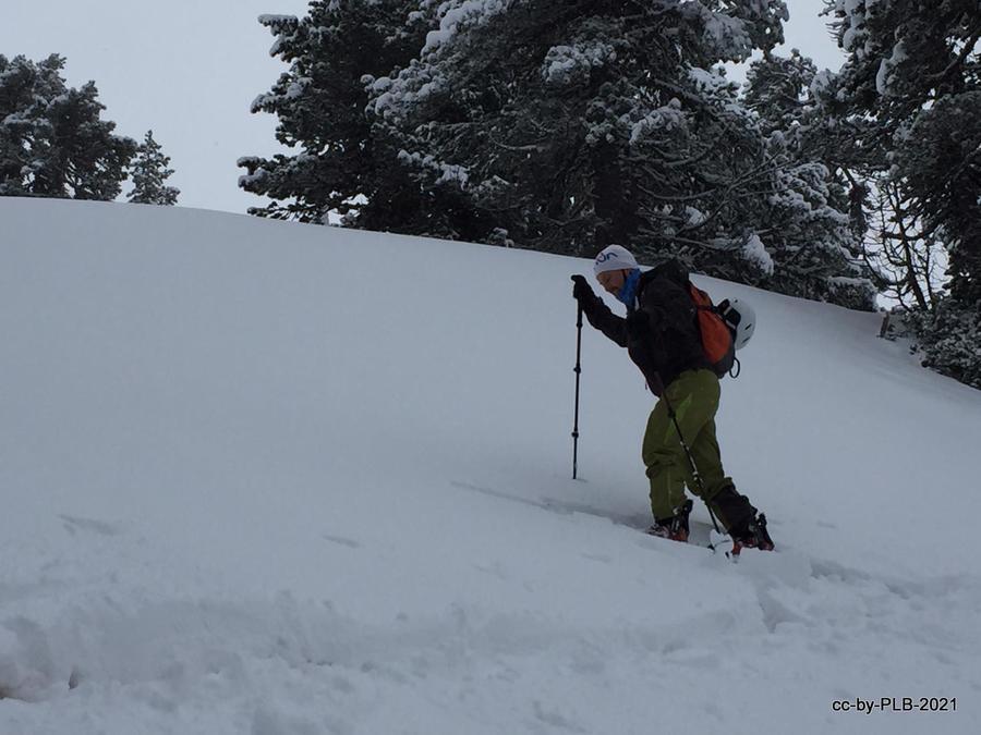 Otro día gris pero con mucha nieve Larra-Belagua [7-feb]