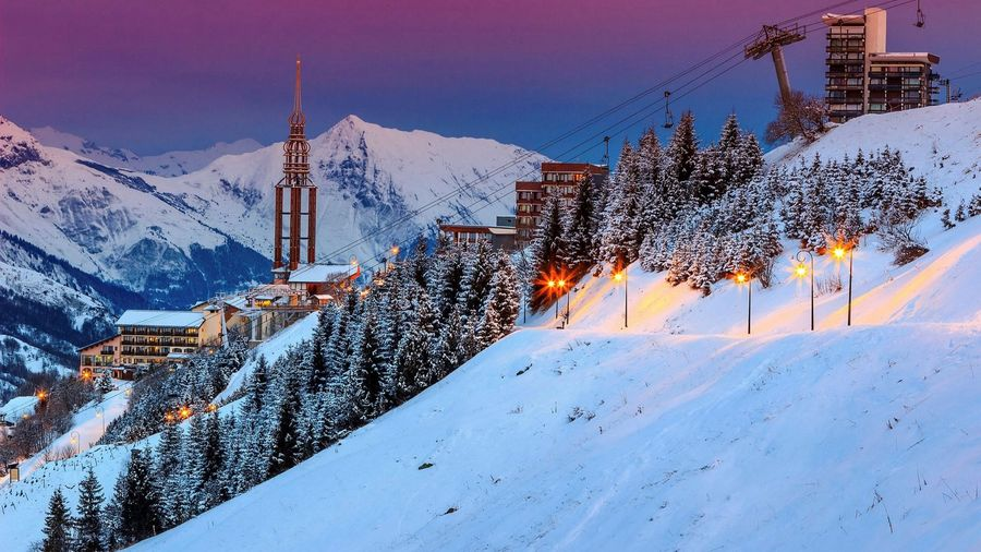 destino de esqui