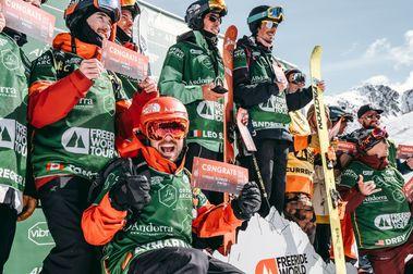 Aymar Navarro asegura en Ordino el pase a la final del FWT en Verbier y plaza para 2020