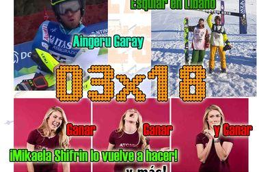 03x18 ¿¿Se puede esquiar en Líbano!! Mikaela Shiffrin, Aingeru Garay... y más!!