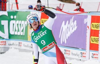 Marco Odermatt gana el Súper-G de Saalbach y Kriechmayr aplaza su título