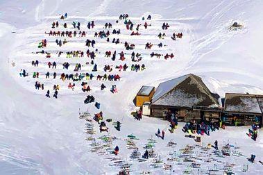 El truco de los suizos para abrir terrazas en las estaciones de esquí