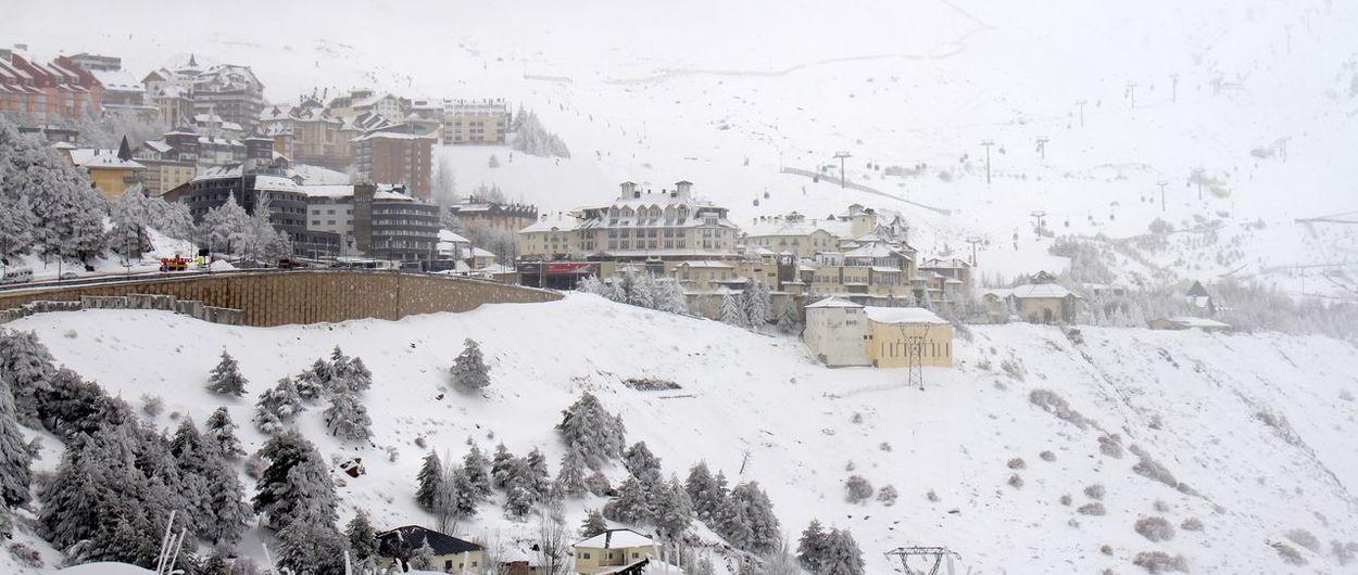 Sierra Nevada recibe más de medio metro de nieve en 48 horas