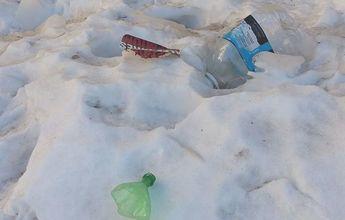 Recoge basura y esquía gratis!