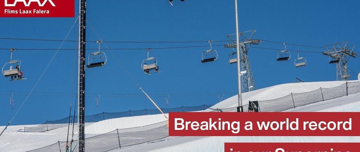 Valentino Guseli marca un nuevo récord mundial de salto de altura en snowboard