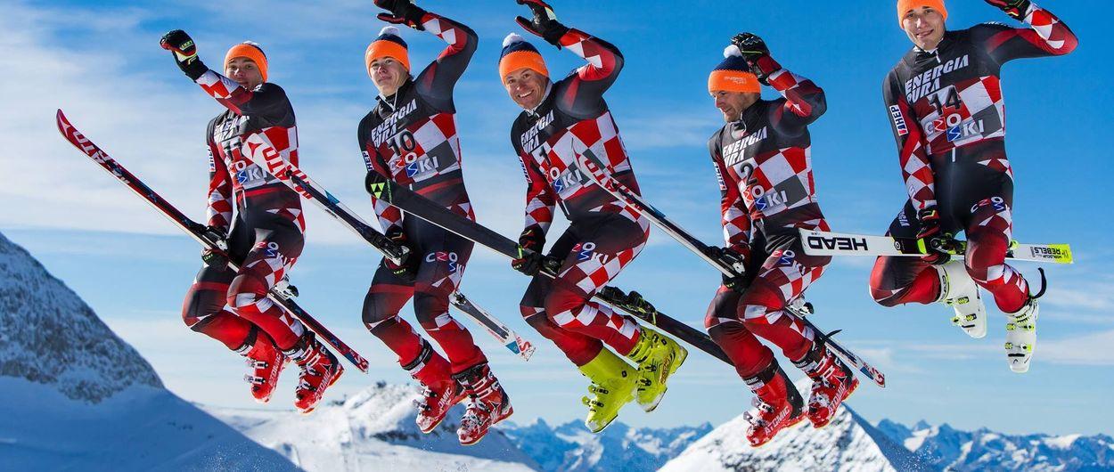Selección Oficial de esquí alpino de Croacia para la temporada 2021-2022