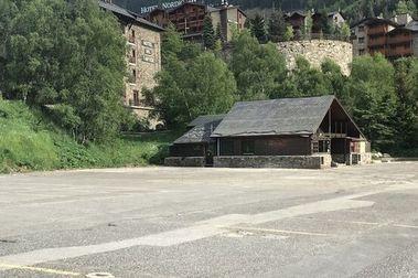 Solo queda esto del mítico l'Abarset de la estación de esquí de Grandvalira