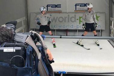 La FAE alquila un simulador de esquí y estará disponible al público