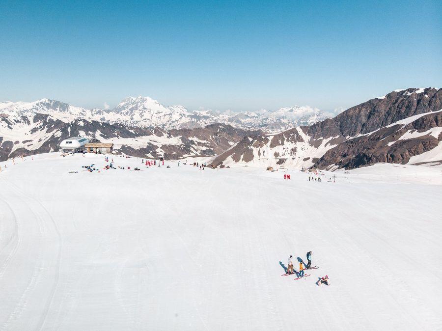 Val d'Isere Glaciar de Pissaillas