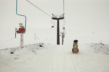 Estación de esquí abandonada