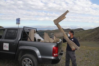 Cetursa y el Batallón Basurista de Sierra Nevada entran en acción
